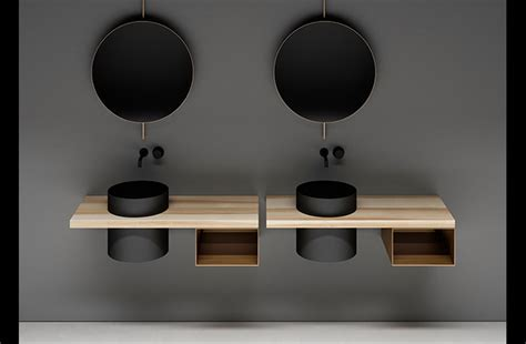 Boffi's Elementi is a bathroom system that include