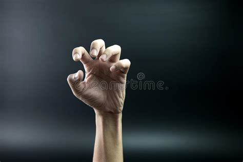 Scary Hand Stock Image. Image Of Grab, Halloween, Abstract