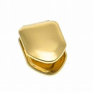 14K Gold Plated Single Tooth Cap - Deez Grillz