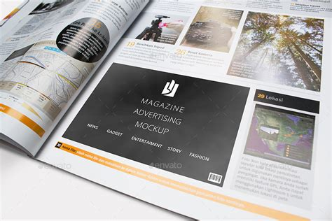 15+ Customizable Magazine Ad Psd Mockup
