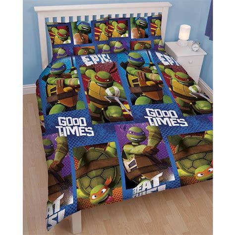 teenage mutant ninja turtles bedding single duvet cover