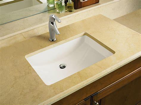 Undermount Vs Overmount Bathroom Sink by Sinks Glamorous Kohler Sinks Undermount Undermount Sink