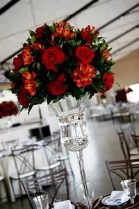 arranjos de mesa altos para casamento formaturas em