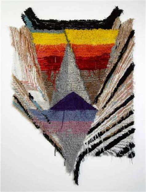 fabric fractal art  caroline achaintre textiles