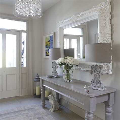 shabby chic entry table how to decorate an entry table hall shabby chic style with