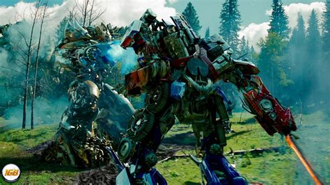 Transformers 2 Revenge Of The Fallen Forest Battle with