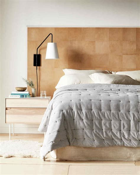 diy headboard ideas  give  bed  boost martha