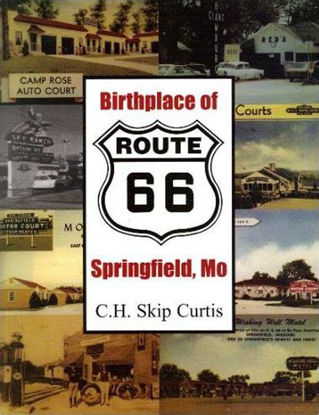 barnes and noble springfield mo birthplace of route 66 springfield mo by c h skip curtis
