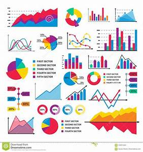 Diagram Chart Graph Elements Vector Business Infographic