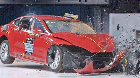 Tesla Model S Crash by Tesla Model S 2017 Crash Tests