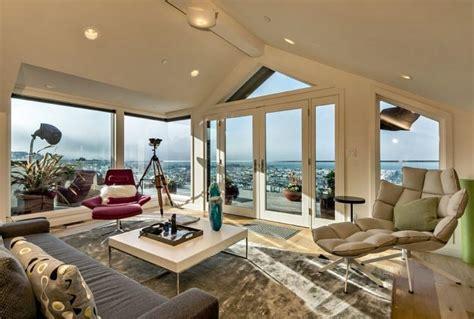 marvelous attic interiors  big windows   delight