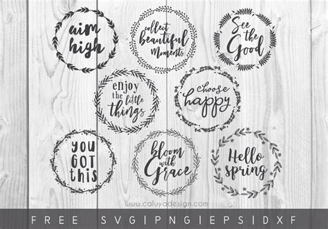Free vector icons in svg, psd, png, eps and icon font. FREE Wreath Quote SVG, PNG, DXF, EPS Downloads by C. Caluya