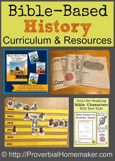 Biblebased History Curriculum And Resources