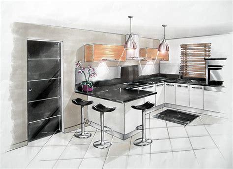 dessiner en perspective une cuisine dessiner en perspective une cuisine les caissons de