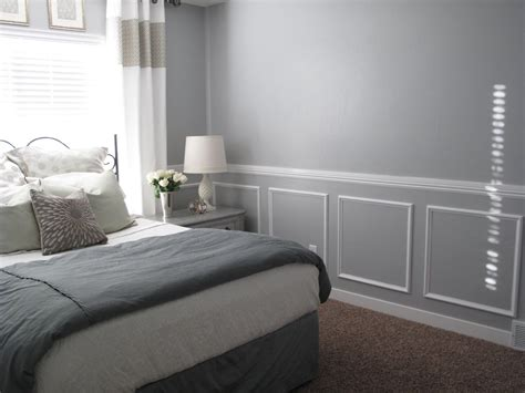 interesting chair rail molding bedroom r throughout inspiration decorating
