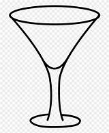 Glass Coloring Clipart Webstockreview Martini Pinclipart sketch template