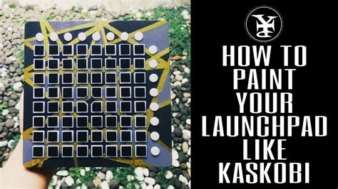 How To Paint Your Launchpad ! Custom Launchpad By Yip Pro