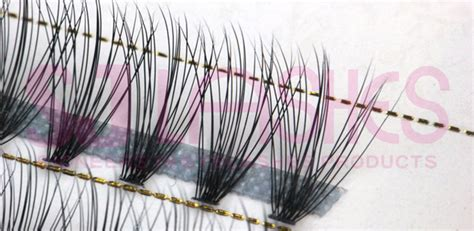 pre fanned volume lashes 0 07mm 20d pre fanned russian volume lashes fds20a tray