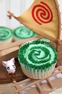 Heart of Te Fiti Moana Cupcakes Mama Cheaps