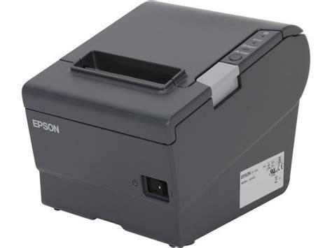 epson tm t88v printing light epson tm t88v pos thermal receipt printer dark gray