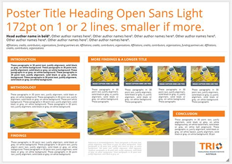 poster template google scientific poster template slides poster press