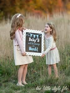 Sibling Gender Reveal Ideas Baby Girl