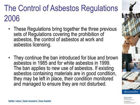 asbestos management powerpoint  id