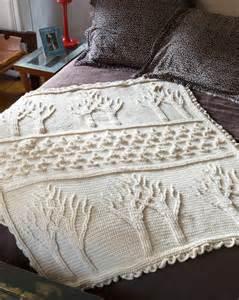 Tree of Life Afghan Crochet Pattern