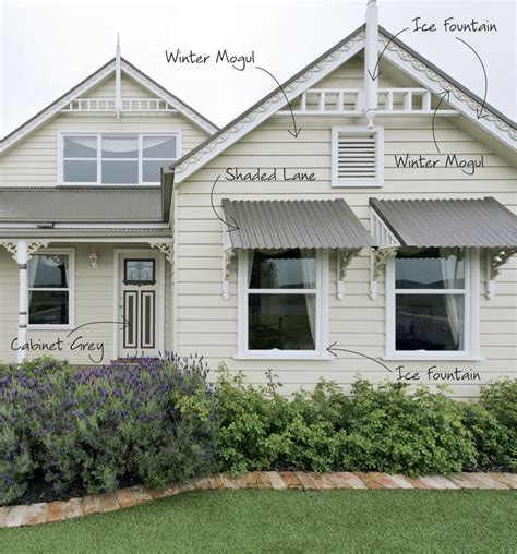 Exterior Decoration by Exterior Handsome Home Exterior Decoration With White