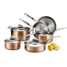 clad  stainless steel tri ply bonded dishwasher safe   fry pan  lidcookware