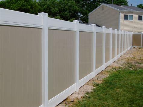 vinyl fence cost pricing genis vinyl fence