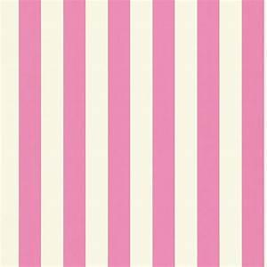 Mimi Stripe Wallpaper - Pink/White (110512) - Harlequin ...