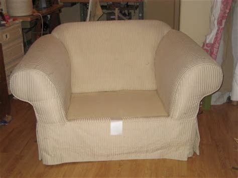 Oversized Chair Slipcover by Custom Slipcovers By Shelley Oversized Chair Before And After