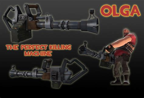 Tf2 Iron Curtain Skin For Minigun by Olga The Better Killing Machine Team Fortress 2 Gt Skins