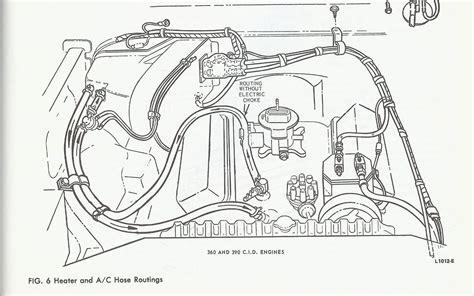 Heater Hose Diagram Corvette