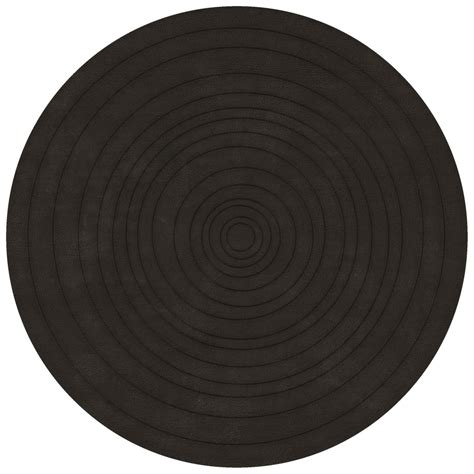 tapis rond coco trendy jago tapis rond diamtre cm gris
