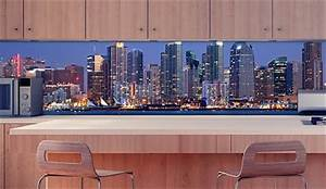 Küche Spritzschutz Plexiglas : k chenr ckwand skyline water plexiglas fliesenspiegel ~ Michelbontemps.com Haus und Dekorationen