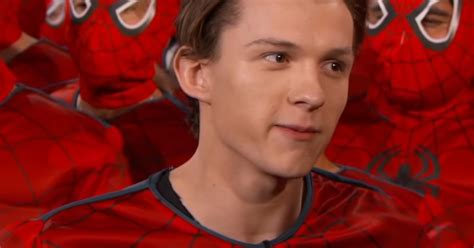 tom holland debuts spider man homecoming trailer
