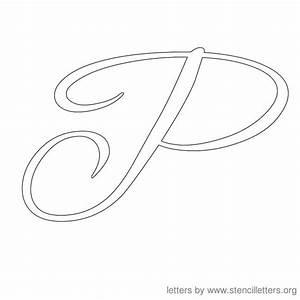8 best images of printable fancy letter p fancy letter p With decorative cursive letters