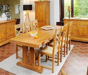 table en chene massif photo 4 10 salle a manger style With meuble salle À manger avec salle À manger louis philippe
