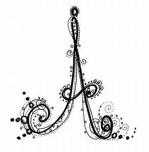 Fancy Alphabet - A. http://www.kathiquinn.com | Letters ...