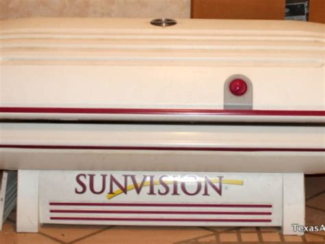 sunvision tanning bed sunvision pro 24s tanning bed