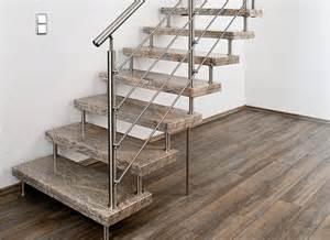 treppen freitragend system treppen plz 01877 schmölln putzkau natursteintreppe freitragend mit edelstahlgeländer