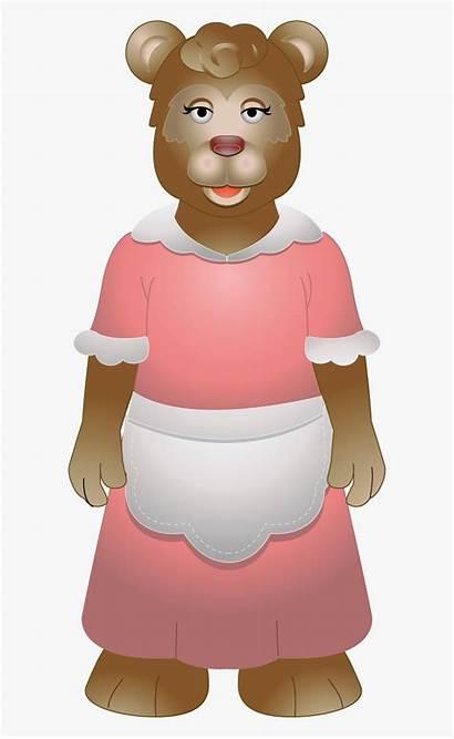 Bear Clipart Goldilocks Mama Clipartkey