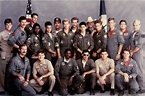 Today is Top Gun day. The entire cast of Top Gun in 1985 ...
