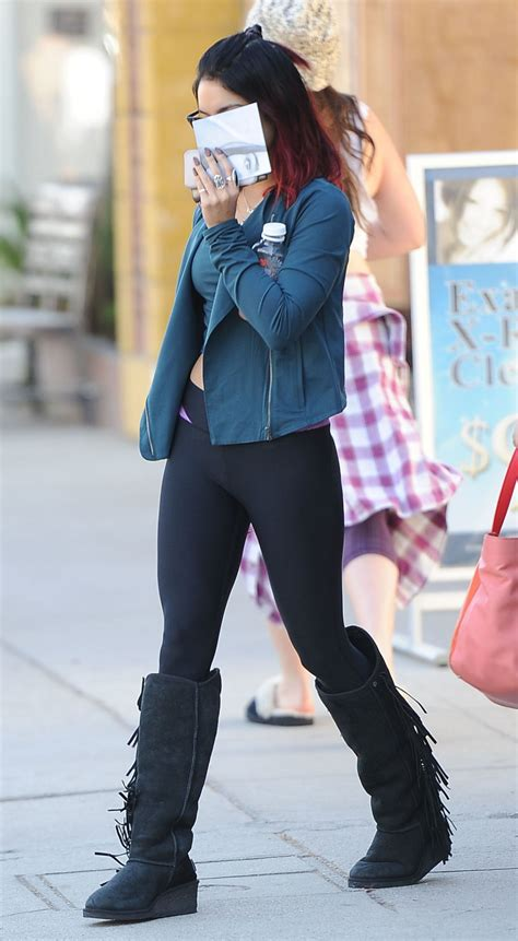 vanessa hudgens  tights     studio city