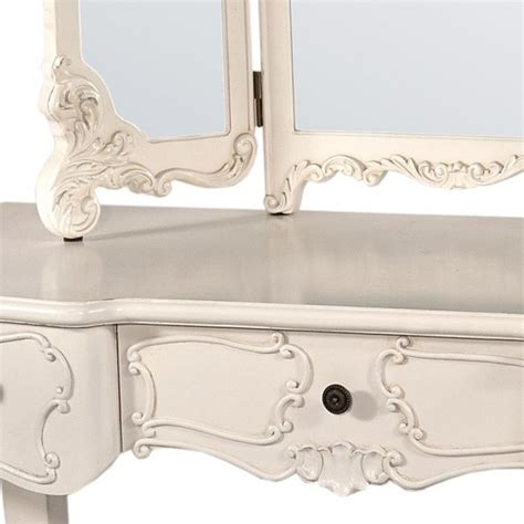 cheap shabby chic dressing table buy french white dressing table with mirrors swanky interiors