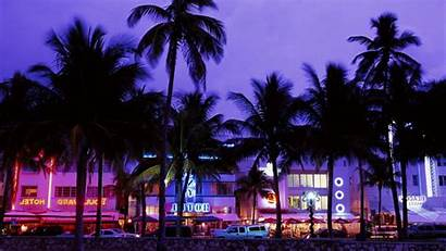 Vice Neon Wallpapers Palm Beach Theft Grand