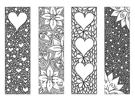 bookmarks to print black and white world of exle