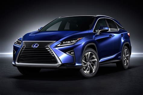Lexus Rx The Fourth Generation Lands At 2015 New York